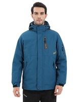 Winter Inner Fleece Waterproof Jacket 3 in 1 Outdoor Women Sport Warm Brand Coat Hiking Camping Trekking Skiing Jackets SA 8