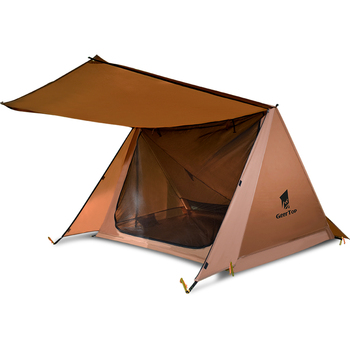 GEERTOP Ultralight 2 Person Tent Bushcraft Shelter Outdoor Survival Gear for Camping Hiking naturehike new mongar 2 person ultralight silicone camping tent outdoor best hiking hunting mountaineering camp tent