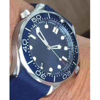 יוקרה שעון AAA גברים שעון עמיד למים שעון מכאני אוטומטי נירוסטה ספיר קריסטל אוטומטי שעוני יד
