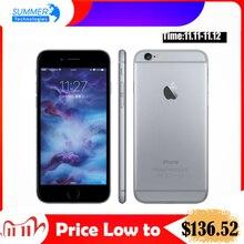 Apple iphone 6s/6s plus telemóvel original, dual core 12mp 2g ram 16/64 celular 4g lte 3d touch,/128g rom, com leitor de digital