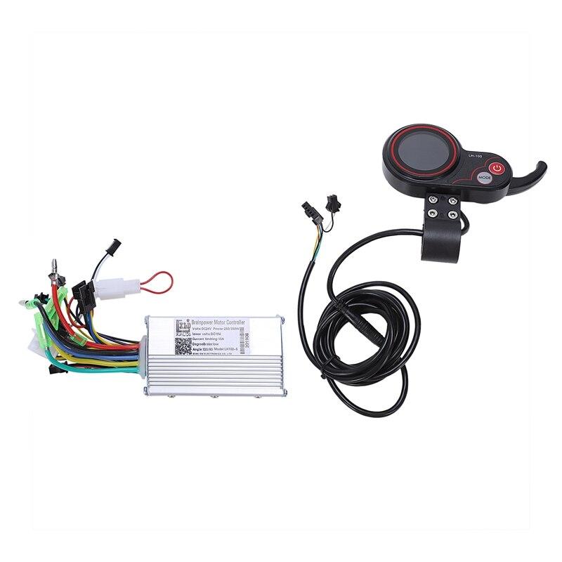 350W électrique vélo Scooter contrôleur Lcd couleur écran panneau de commande avec commutateur de décalage e-bike accessoire