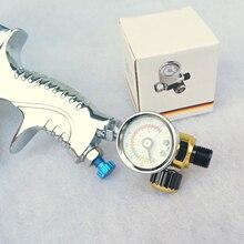 Воздушный контроль Манометр Компрессор регулятор для Devilbiss& Iwata пульверизаторы