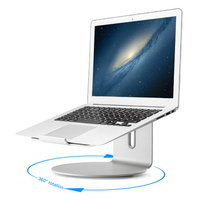 Aluminium Laptop Stand Base 360 Draaien Notebook Verhoog Cooling Holder Ondersteuning SP99