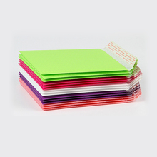 100Pcs Colorful Plastic Bubble Mailers Waterproof Poly Bubble Envelope Gift Shipping Packaging Bags Shockproof Padded Envelopes