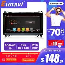 Eunavi 2din Android Car radio player For Mercedes Benz B200 A B Class W169 W245 Viano Vito W639 W906 Sprinter Viano Vito B180 BT