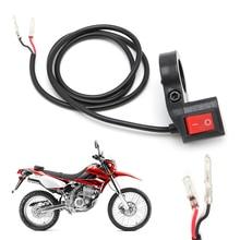 New 7/8'' Motorcycle Bike Scooter Handlebar ON-OFF Head Fog Spot Light Switch R9CC