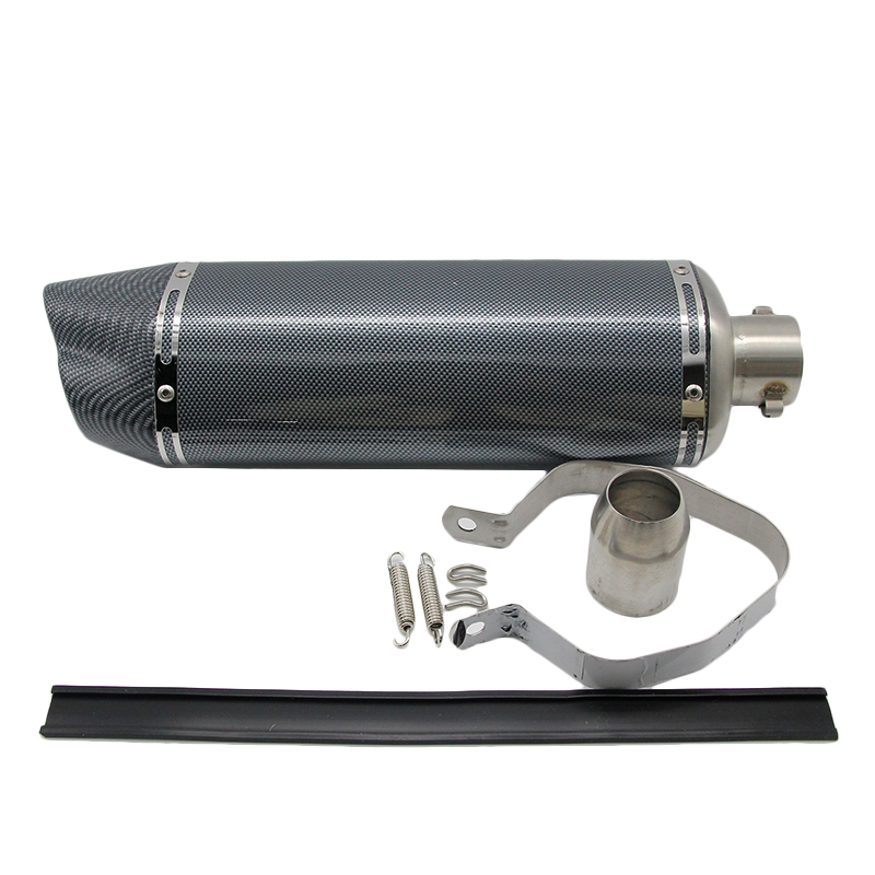 51MM Universal Motorcycle Scooter Modified yoshimura exhaust pipe CBR 125 250 CB400 CB600 YZF FZ400 Z750 RACING in Exhaust Exhaust Systems from Automobiles Motorcycles