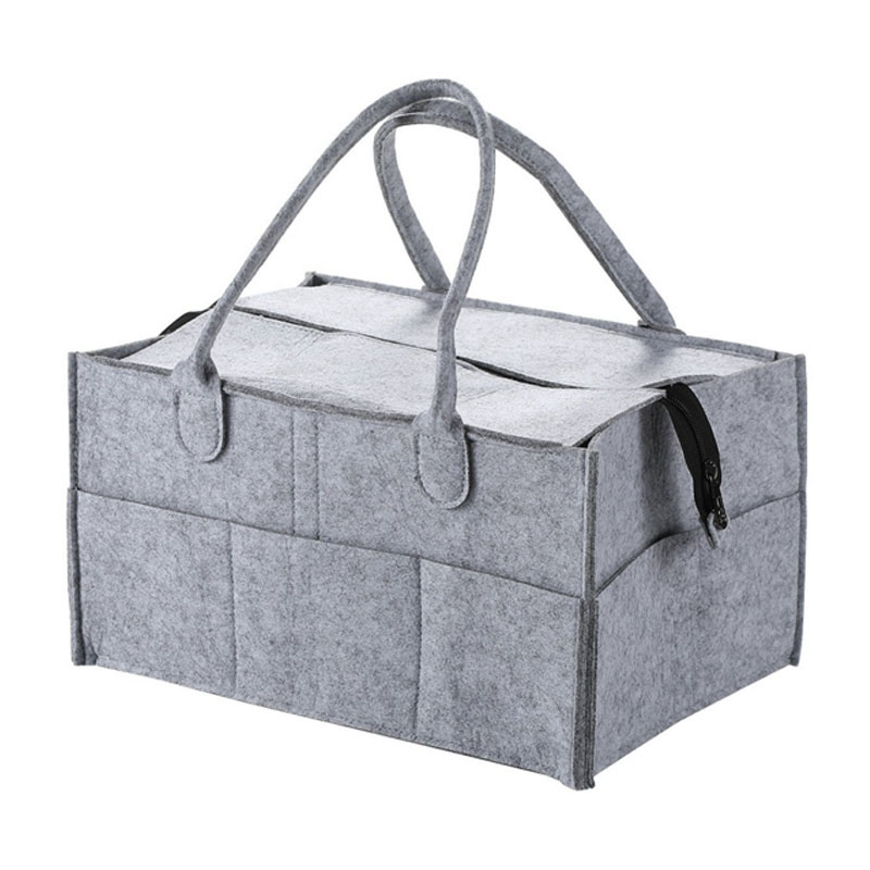 With Lid Storage Bag Foldable Baby Diaper Caddy Organiser Gift Kid Toys Portable Bag Box For Car Travel Changing Table Organizer
