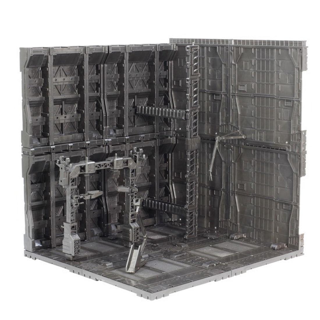 30x30x33 см солдат ручной работы, база спецназа, фоновая доска для модели Gundam Mecha типа J
