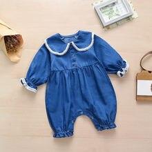 Одежда для новорожденных одежда маленьких девочек наряды комбинезоны
