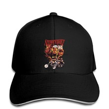 STEPPENWOLF ROCK BAND Born To Be Wild Personalizzato Mens berretto Da Baseball Nero S alla cappello di snapback Ha Raggiunto Il Picco(China)