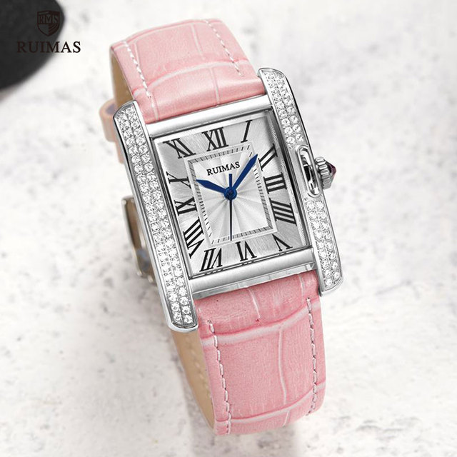 RUIMAS Automatic Watches Luxury Leather 6773