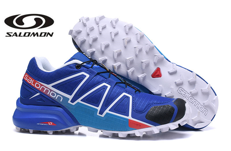 Free Shipping 2018 New Salomon Speed Cross 4 Outdoor Sports Shoes Sc4 Men Fencing Shoes Eur 40-46