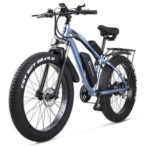 Image 5 - Shengmilo Elektrische Bike 1000W Herren Mountainbike Schnee Bike Elektro Fahrrad Ebike 48V17Ah Elektrische Fahrrad 4,0 Fett Reifen e bike