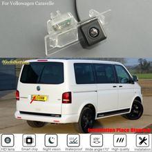 Câmera de estacionamento para vw volkswagen t6 transporter/caravelle/multivan 2015 camera 2019 câmera de visão traseira/lâmpada da placa licença câmera