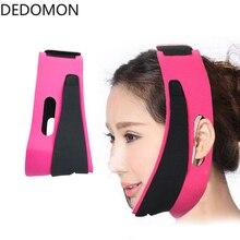 Double Chin Face Bandage Slim Lift Up Anti Wrinkle Mask Strap Band V Face Line Belt Women