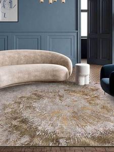 Area Rugs Carpets Abstract Brown Living-Room Home Floor-Mat Soft Bedroom for Tree-Crown-Pattern