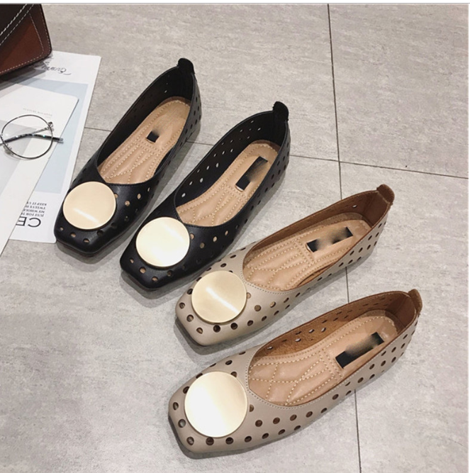 YEELOCA 2020 Women M002 Casual Flats Shoes Summer Bow Casual Rubber Soft Bottom Sneakers Breathable Comfortable Shoes KZ0873