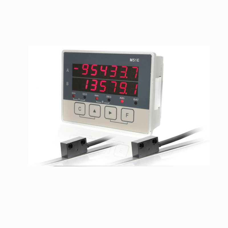 2 axis lcd dro magnetic optical linear displacement scale sensor position transducers cnc encoder woodworking machine lathe