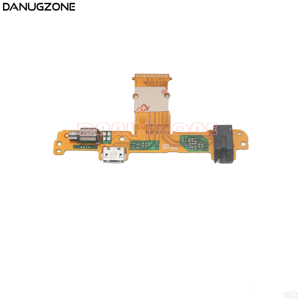 USB Charging Port Connector Charge Dock Socket Audio Earphone Jack Flex Cable With Vibrator For Huawei Mediapad 10 Link S10-231