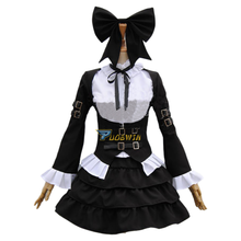 Fairy Tail Erza Scarlet Maid Cosplay lolita dress cutte Costume Customize maid cosplay new fairy tail erza scarlet women cosplay costume any size tailor made free shipping in stock