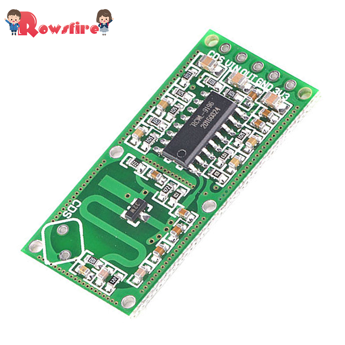 RCWL-0516 Microwave Radar Induction Switch Module Human Induction Sensor Module(BUY 5 GET 1 FREE)