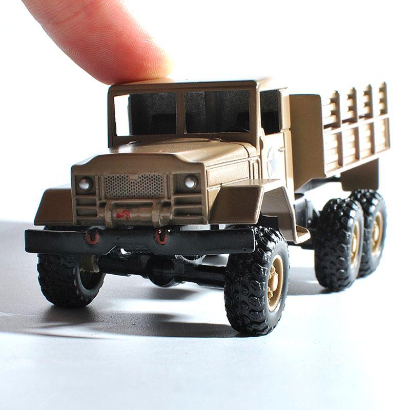 Wpl mb14 164 metal rc carro modelo 6 roda simulação veículo brinquedo para crianças m89c