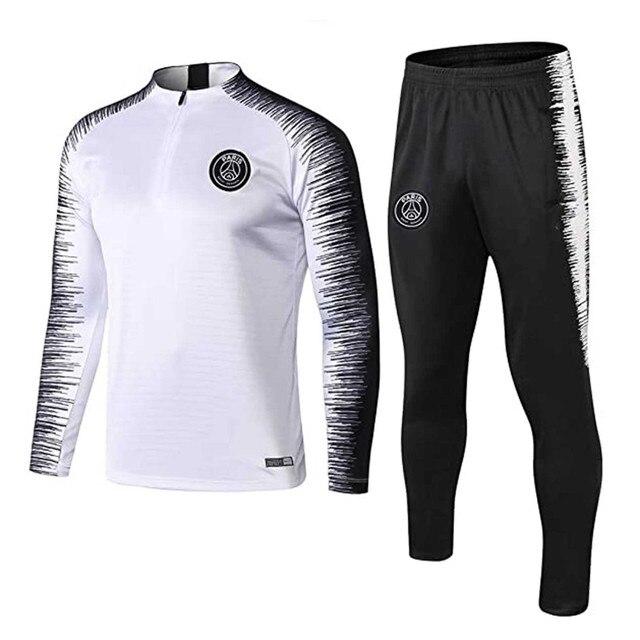 2020 Mens Autumn Winter Packwork Print Sweatshirt Top Pants Sets Sport Suit Tracksuit Skin-Friendly chandal hombre F Fast Ship