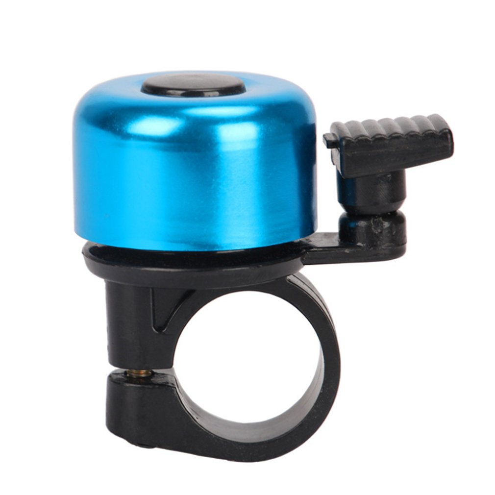 Safety Cycling Bicycle Bells Metal Ring Handlebar Bell Sound for Bike Bicycle black color loud sound fashionable malfunctioned