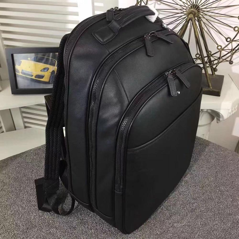 Man Brand Cowhide Backpack Genuine Leather Brand Backpack Golf Bags