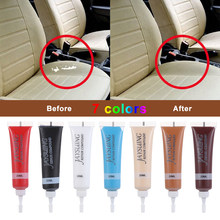 7 cores avançado assento de carro couro reparação gel ferramentas de manutenção automóveis acessórios do carro 20ml