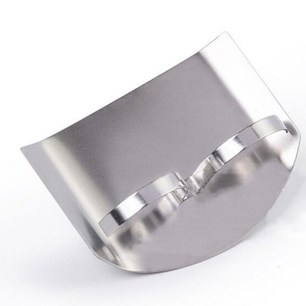 Knife Hand-Protector Finger-Guard Kitchen-Tool Cutting Stainless-Steel Safe-Slice title=