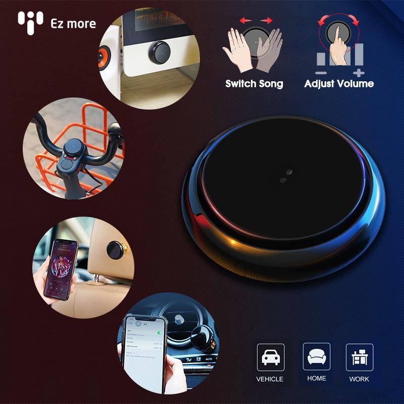 Xiaomi EZ More 2019 New Wireless Bluetooth Car Gesture Multimedia Controller Mini Smart Remote Music Hand Control AI Tech