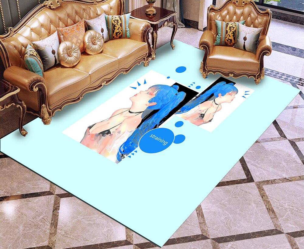 Glamour Woman Rug 3D Print Carpet Outdoor Rug Sexy Girl Floor Mat  Bedroom Rug Living Room Floor Carpet Home Textile Carpets