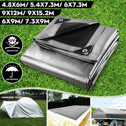 Tarpaulin Rainproof Cloth PE Thick0.35mm Outdoor Garden Courtyard Succulent Plants Pet House Waterproof Sunscreen Sunshade Cloth