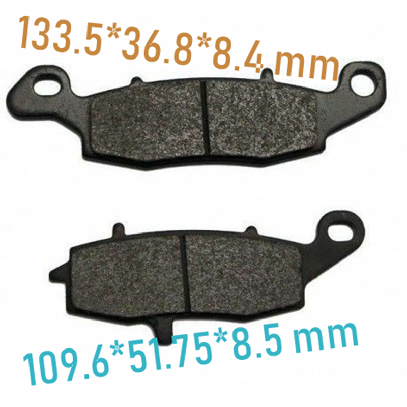 Motorcycle Brake Pad for Kawasaki GPZ1100 ZR1100 Zephyr <font><b>VN1500</b></font> Classic VN1600 VN1700 Tourer Voyager VN2000 Vulcan image