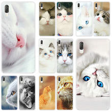 Mignon animal chat étui rigide Pour Sony Xperia L1 L2 L3 X XA XA1 XA2 XA3 Ultra 10 Plus E5 XZ XZ1 XZ2 Compact XZ3 XZ5 2 20 Couverture(China)