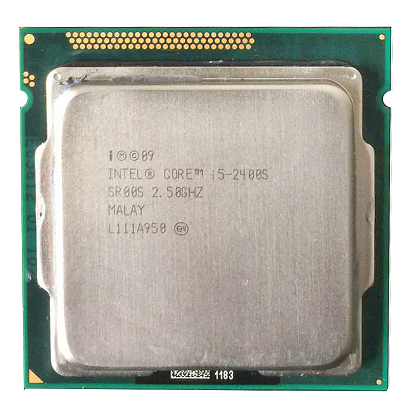 Intel Core i5-2400S i5 2400S CPU 2.5GHz 65W Cache 6MB Quad-Core LGA 1155 i5 <font><b>Processor</b></font> Desktop CPU image