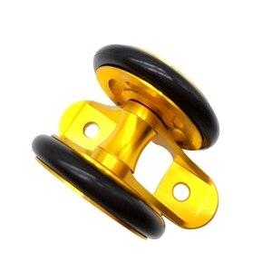 Складной велосипед легкое колесо велосипед крыло подшипник двойное колесо заднее крыло колесо для Brompton складной велосипед аксессуары