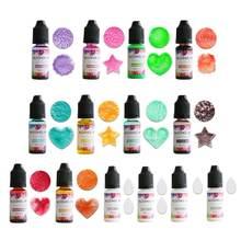 14 видов цветов 10 мл спиртовые чернила диффузионная Смола пигментный