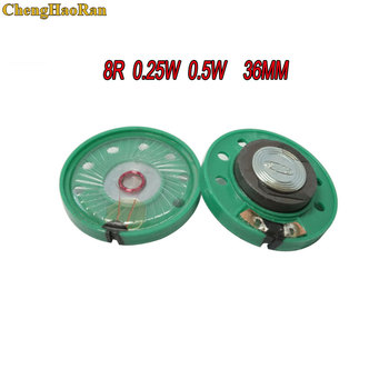 ChengHaoRan 1pcs Ultra-thin speaker Doorbell horn Toy-car horn 8 ohms 0.5 watt 0.5W 0.25W 8R speaker