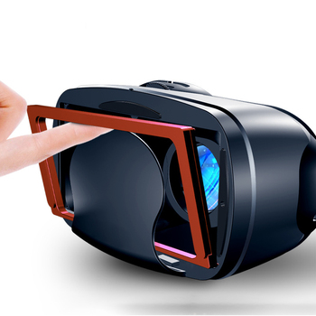 2020 New Style VR Glasses Mobile Phone Only 3D Virtual Reality Helmet Magic Mirror Blueray Smart Gift A Generation of Fat 4