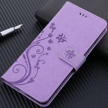 Flip caso de teléfono para Samsung Galaxy M10 A50 A6 A8 S20Fe S10 S10E S9 S8 J4 J6 J3 2018 Cartera de cuero cubierta Capa D04Z