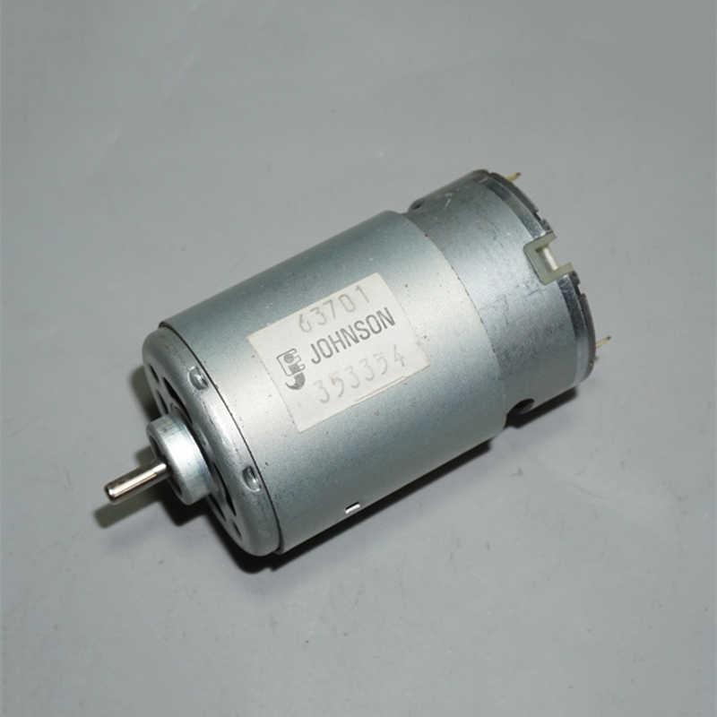 JOHNSON RS-550 elektrik motoru DC 9.6V 6V-12V 22400RPM yüksek hızlı güç motoru 3.17mm mil DIY elektrikli matkap aleti oyuncak araba modeli