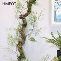 120CM Künstliche pflanzen Schwarz knochen reben hochzeit studio echte dekoration simulation blume künstliche blume hause hängen reben