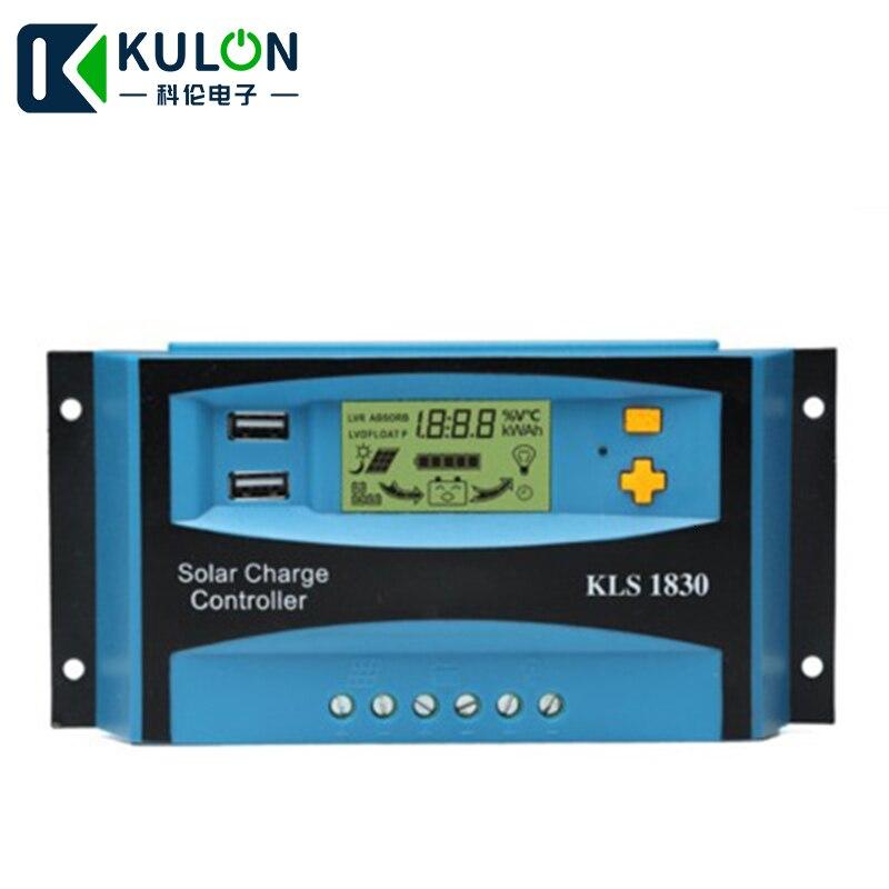 kulon saida usb duplo display lcd pwm controlador de carga solar conduziu a lampada de rua