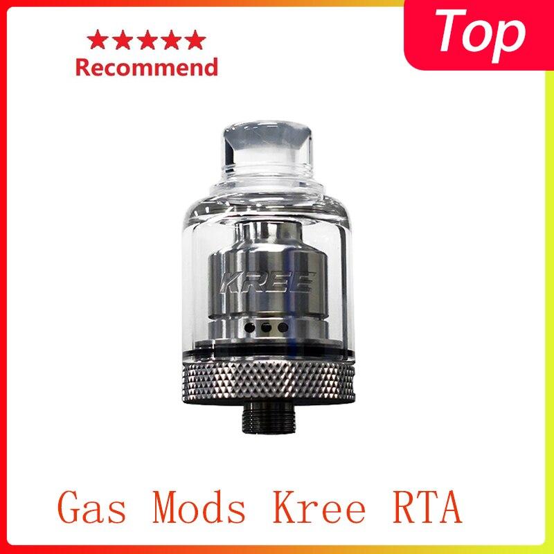 Newest Gas Mods Kree RTA 3.5ml Tank Capacity & Airflow System Electronic Cigarette Atomizer Vs Zeus X/zeus Subohm
