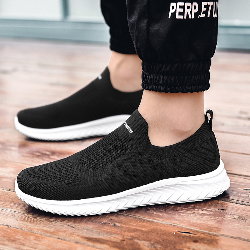 Brand Sneakers Comfortable Men Casual Shoes Male Outdoor Walking Shoes Tenis Masculino Zapatillas Hombre Deportiva Plus Size 46