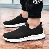 Zapatillas de deporte de marca zapatos casuales cómodos para Hombre zapatos para caminar al aire libre Tenis Masculino Zapatillas Hombre Deportiva de talla grande 46