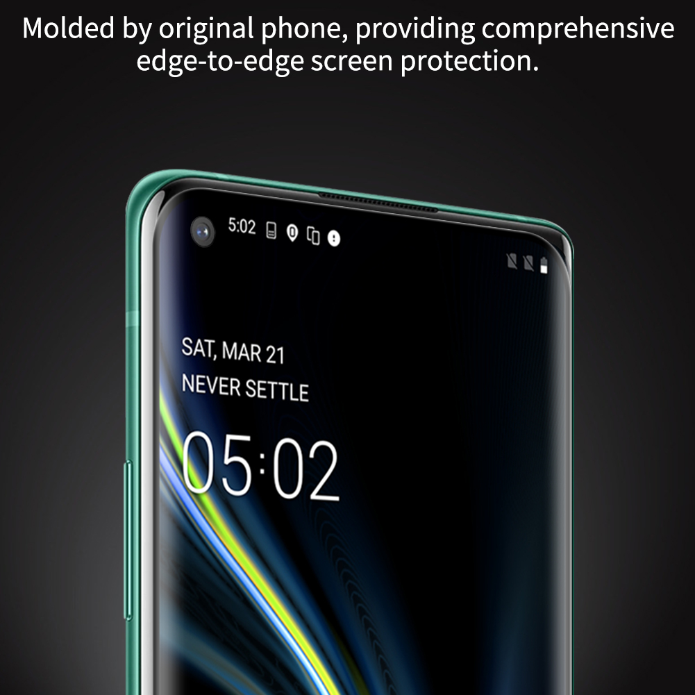 Oneplus 8 Pro Nillkin Amazing 3D DS+ Max Tempered Glass Protector 6